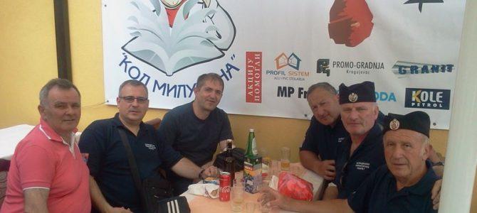 """ШРП на акцији добровољног давања крви 3.мај 2018 """"Библиотека"""" Крагујевац"""