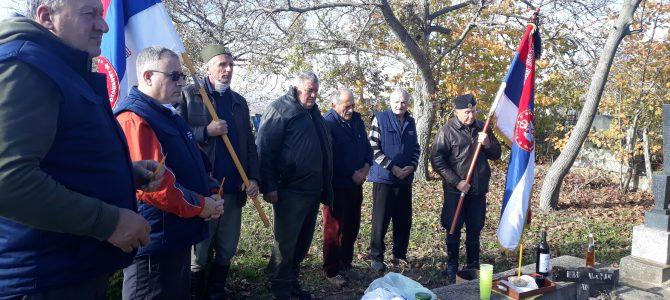 Парастос команданту Аци Милошевићу – Сараново, 19.11.2020. године